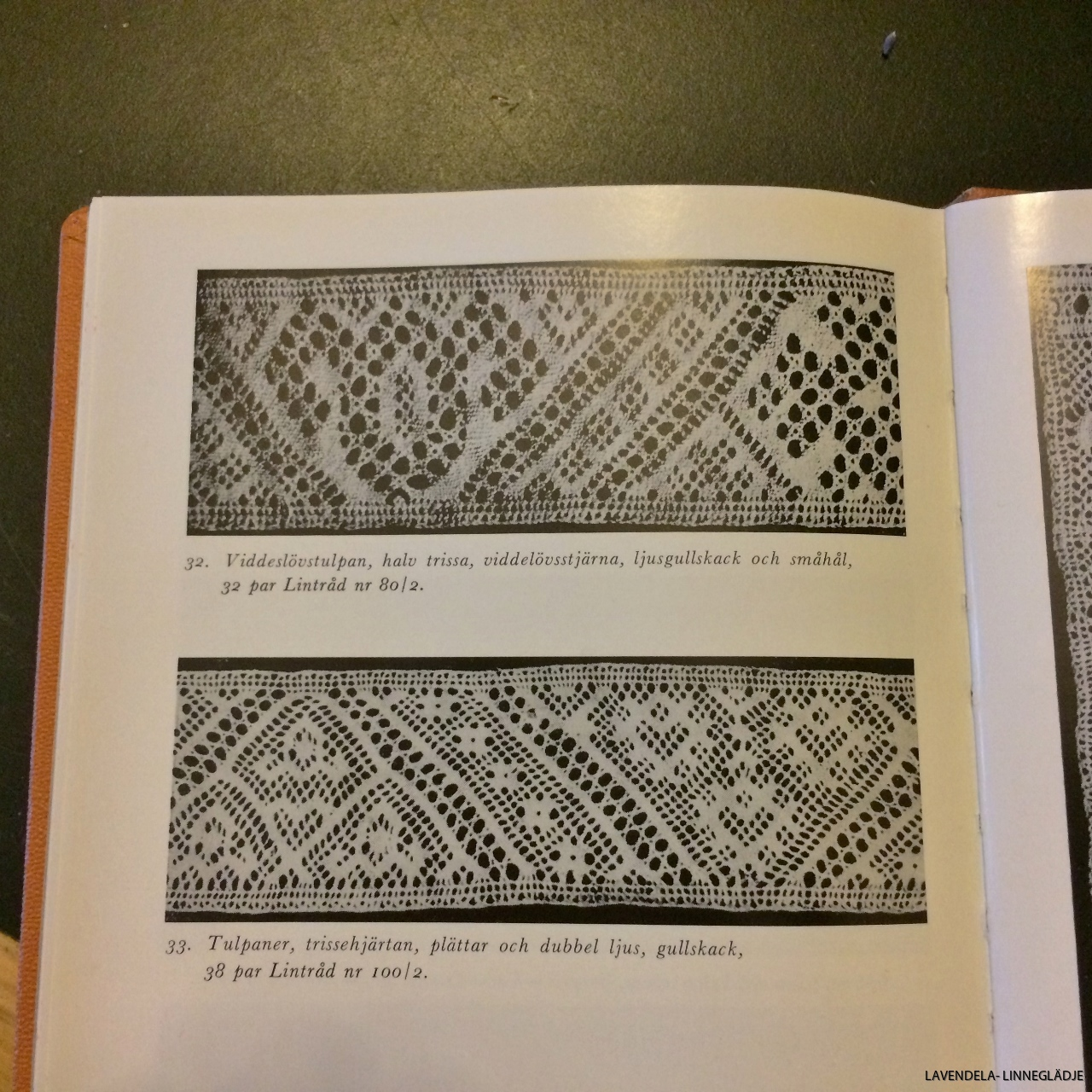 Intressant bok om Skånsk knyppling.