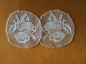 Två runda isättningar ca, 7 cm i diameter - Två isättningsspetsar i