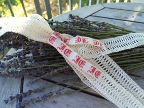 Sommar-pris! Fyra handvirkade spetsar, 4 meter. Oanvända! - REA! Handvirkade spetsar i vitt.
