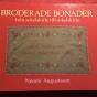 Välskriven och intressant bok om broderade bonader. - Bästa boken om broderade bonader