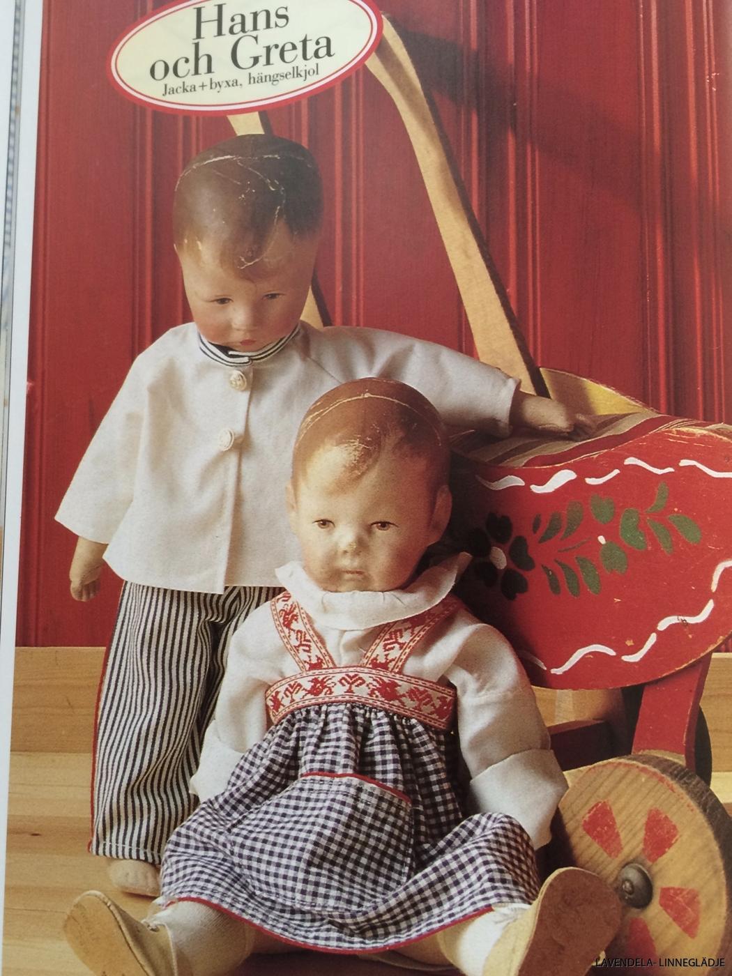 Jättefina kläder till dockorna