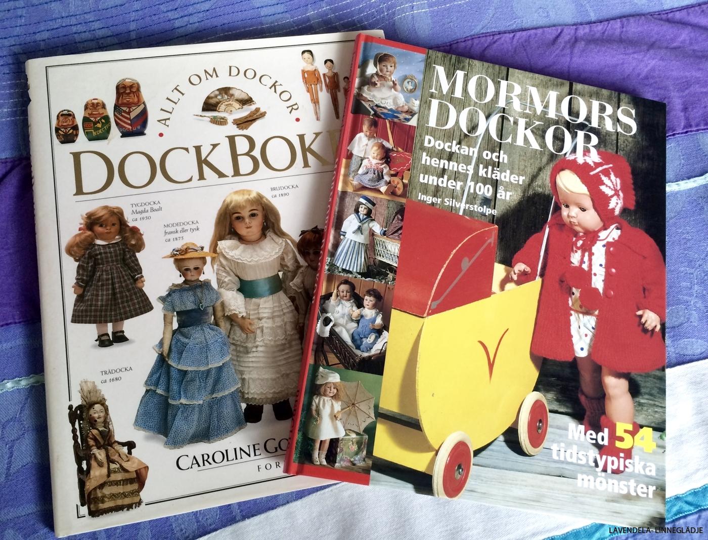 Vi har fler böcker om dockor.