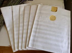 Ett dussin hellinnehanddukar. Handfållade, NYA! - 12 stycken ljuvligt vackra handdukar
