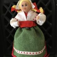 Utförsäljning! En söt Charlotte Weibull docka i bästa skick!