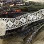 Handknypplade spetsar i off-white. 260 + 220 cm, Oanvända! - Två vackert handknypplade spetsar.