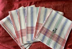 Absolut bästa kvalité! Sex kökshanddukar i hellinne. - Sex handdukar i bästa kvalité.