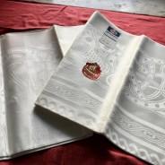 Vackrast av dem alla! Damastduken, Draken design: S. Sohlman. I perfekt skick!