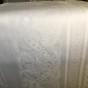 Julpris! Den vackraste av dem alla! Draken, damastduken, design, S.Sohlman. Storlek: 240 x 130 cm.