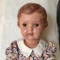 Bästa priset! Den sötaste dockan från 50-talet! Välbevarad och välklädd.