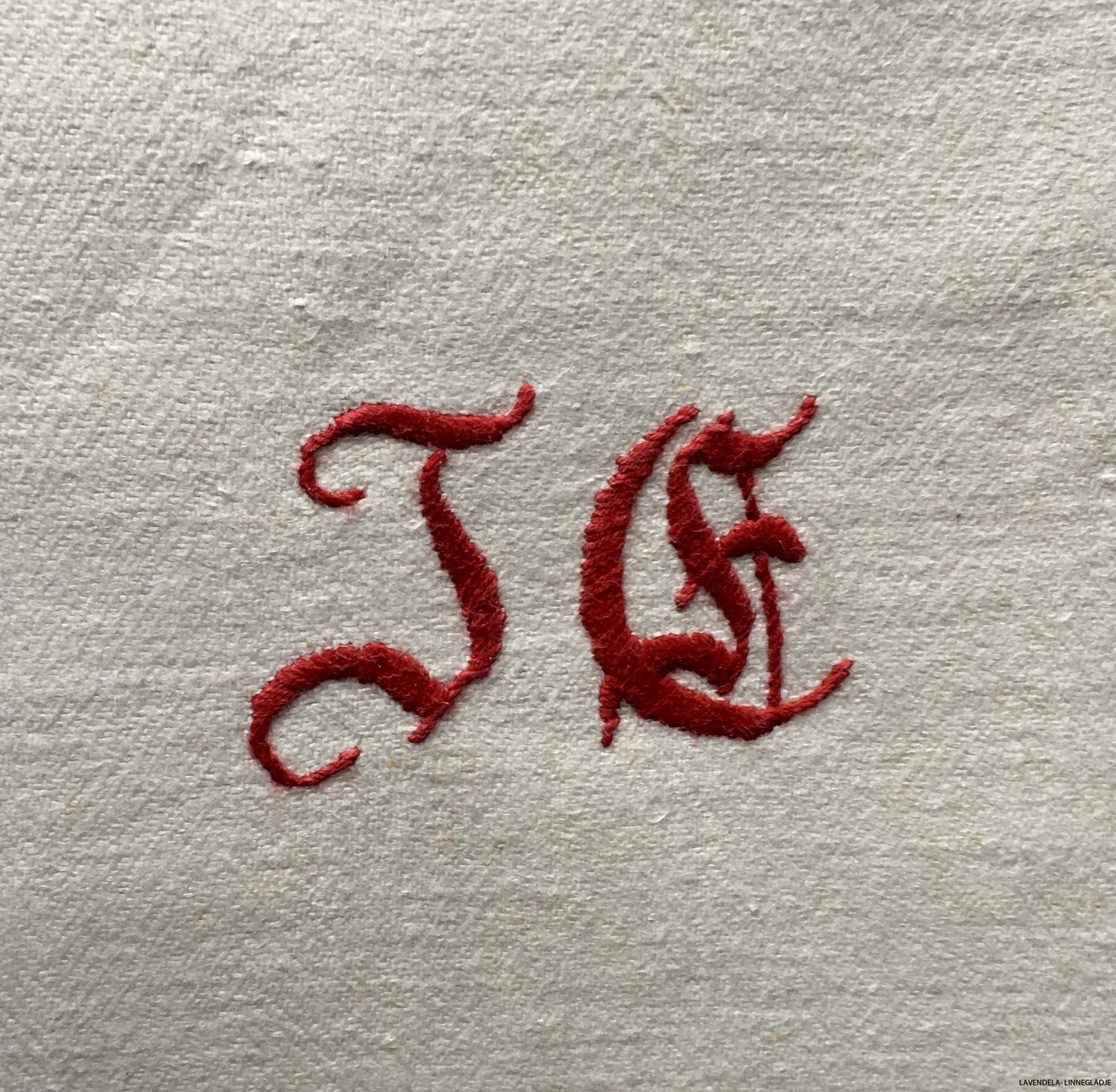 Men vackert monogram
