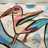 Gardiner, 210 x132 cm. Design: U. Hydman-Wallin. Härligt mönster.
