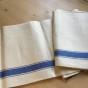 REA! En handduksräcka i allra finaste kvalité. Snygga blå bårder och i linne!