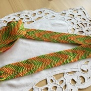 Ett handvävt band, 160 cm lång!  Oanvänt.