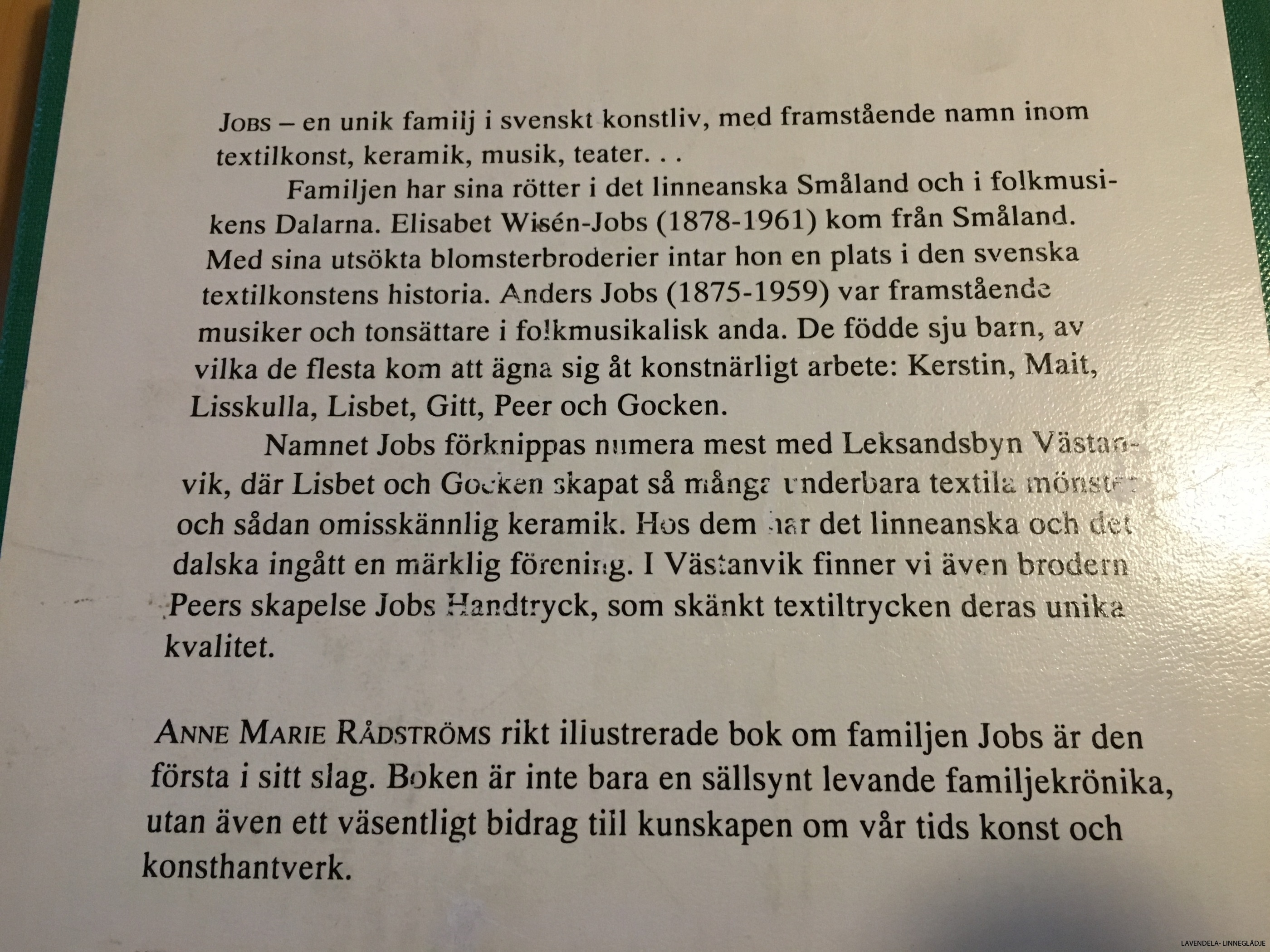 Bok om familjen Jobs