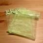 Fynda! Tio organzapåsar i försommargrönt. Nyvara - Tio orgazapåar 12 x 9 cm