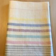 En fin handduksräcka sk. glashandduk.