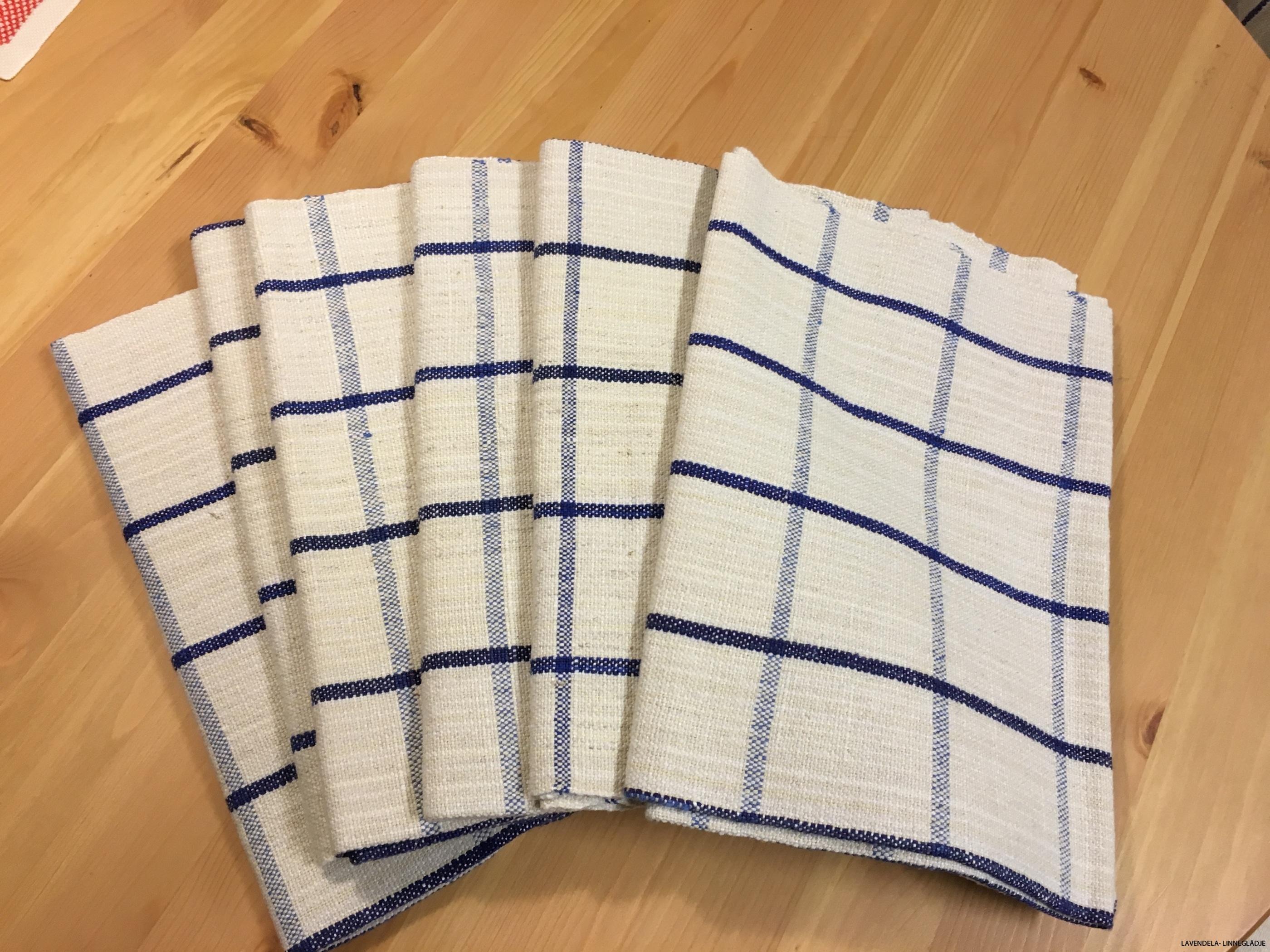Åtta fina handdukar