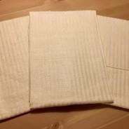 Tre fina handdukar i helinne i fint skick!