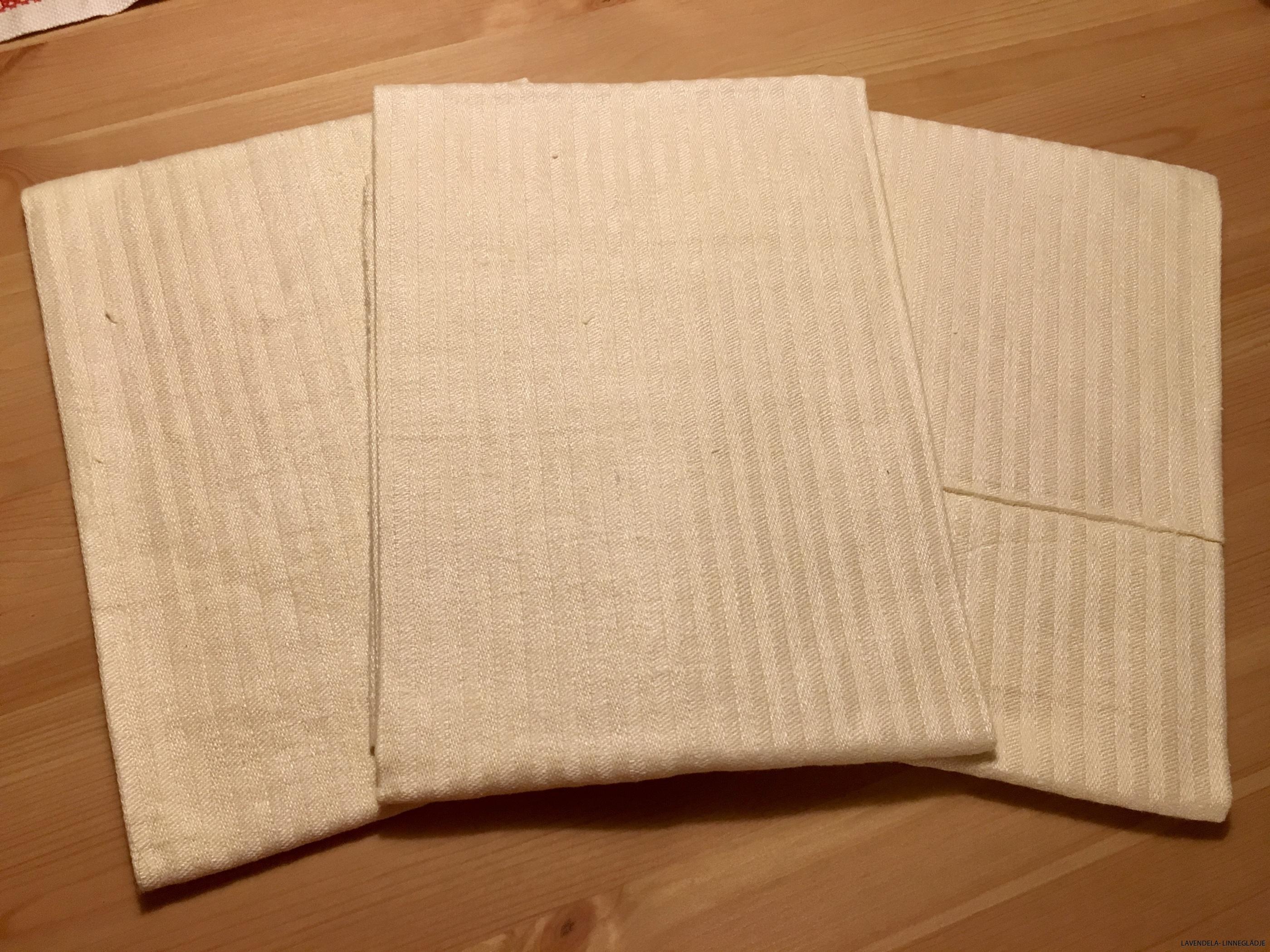 tre fina handdukar