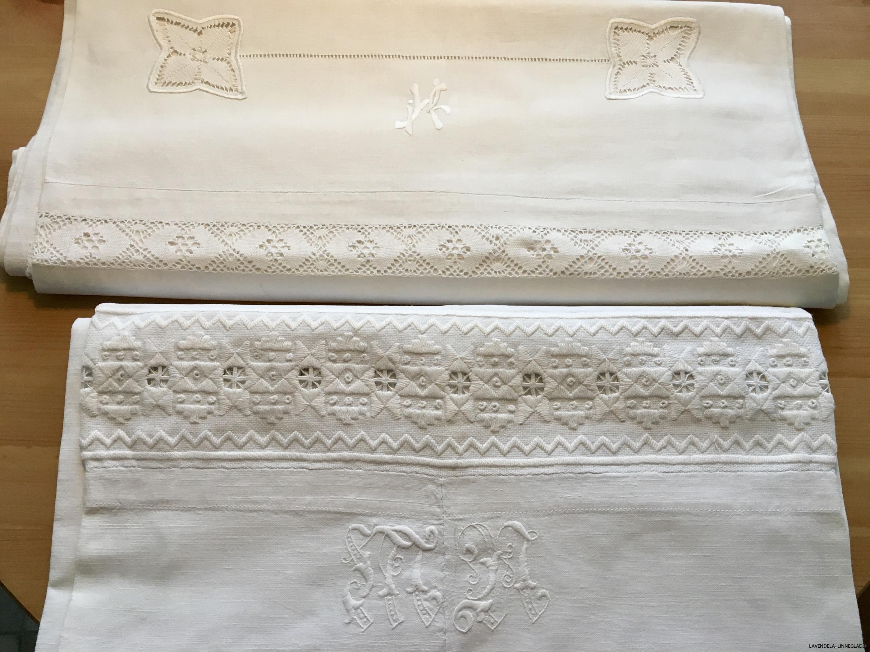Både linne och bomull