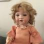 En jättefin antik docka, 45 cm lång, från Tyskland - En vacker antak docka