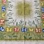 En riktig sommarduk, 90 x 85 cm. Design. Thea tanner. - En sommarduk av T. Tanner