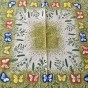 En riktig sommarduk, 90 x 85 cm. Design. Thea tanner.