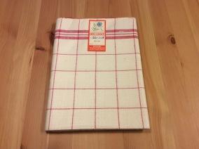 En handduksräcka i glänsande hellinne, oklippt! - Två stycken Hellinneräcka i bästa skick!