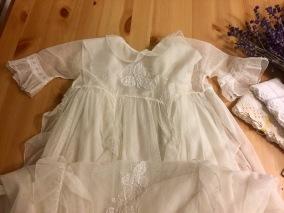 Se upp! Ljuvlig handsydd dopklänning i tyll! - Ljuvligt handsydd dopklänning