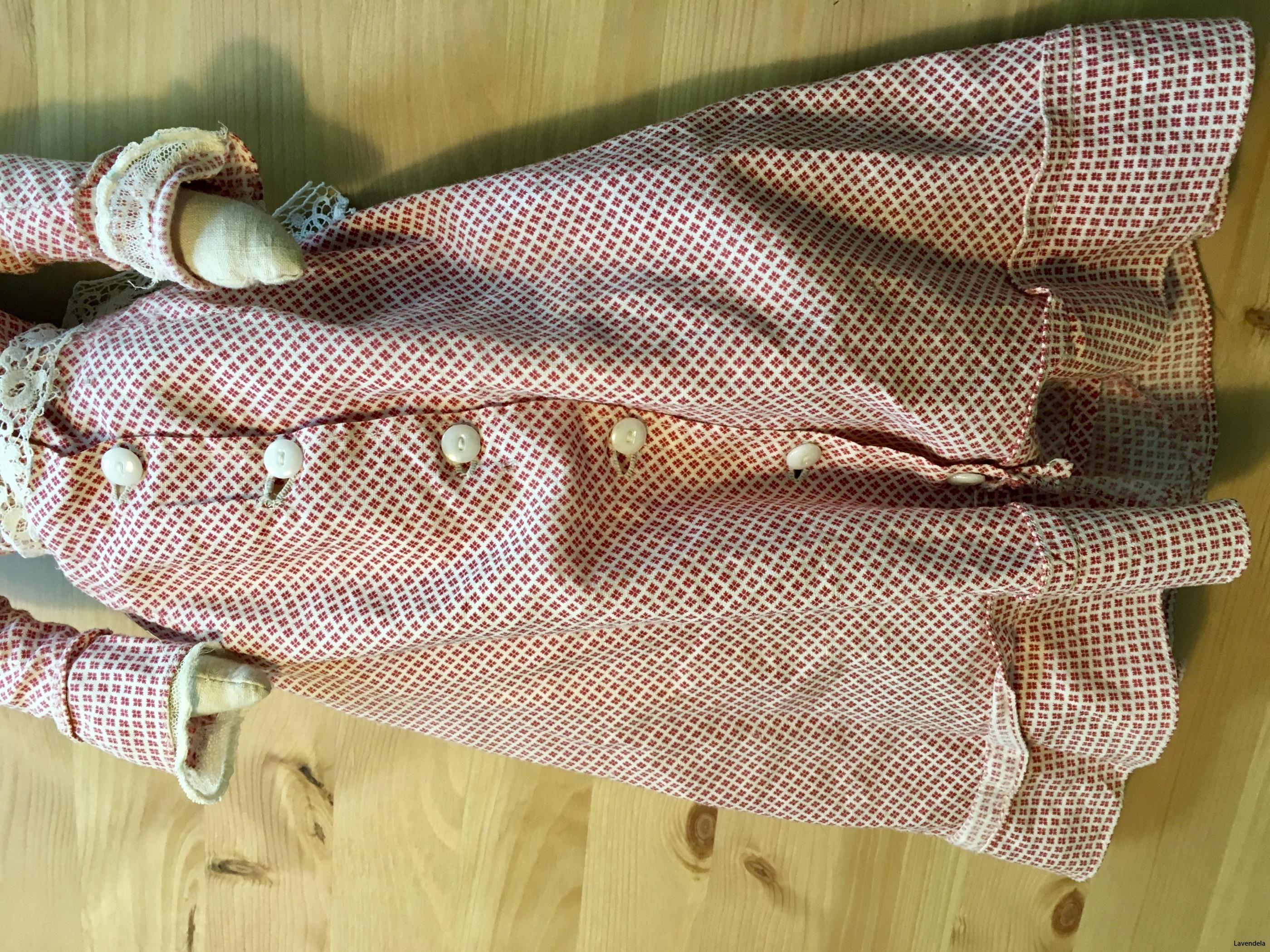 Klänningen i gammelrosa