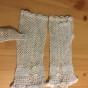 Ett par äldre handvirkade handskar!