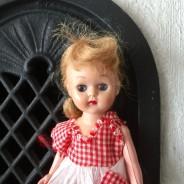 """En jättesöt docka """"finger?"""". 20 cm lång. Nyskick!"""