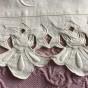 Underbara, antika handbroderade lakan i linne!