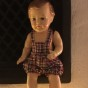 En jättesöt JK. Köge docka, 20 cm lång.