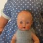 En mycket söt Roddy-docka, 15 cm. Nyskick! - En liten Roddydocka, 15 cm