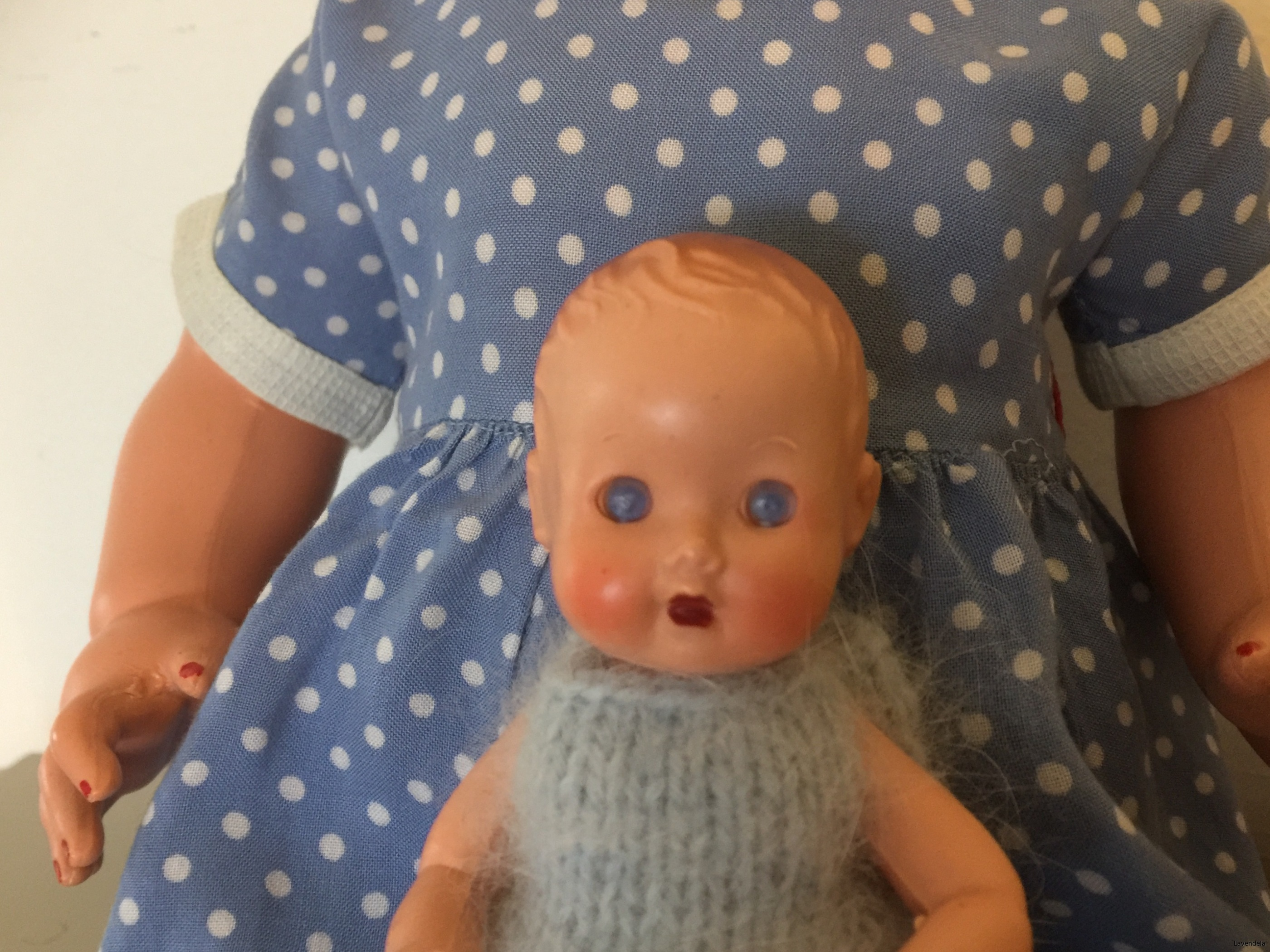 En sör liten docka
