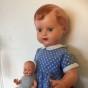 En söt docka från 50-talet.
