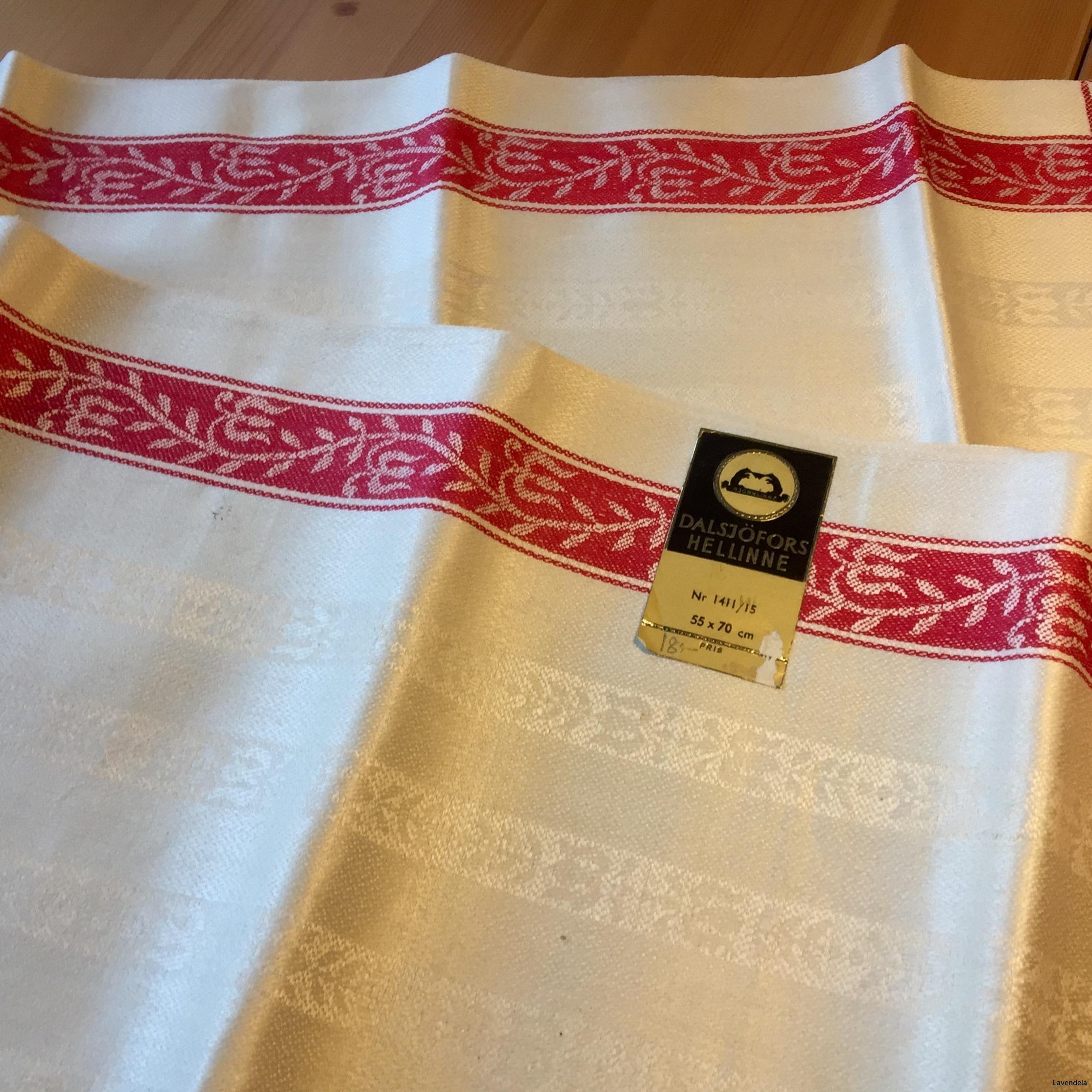 6 handdukar, 70 x 55 cm