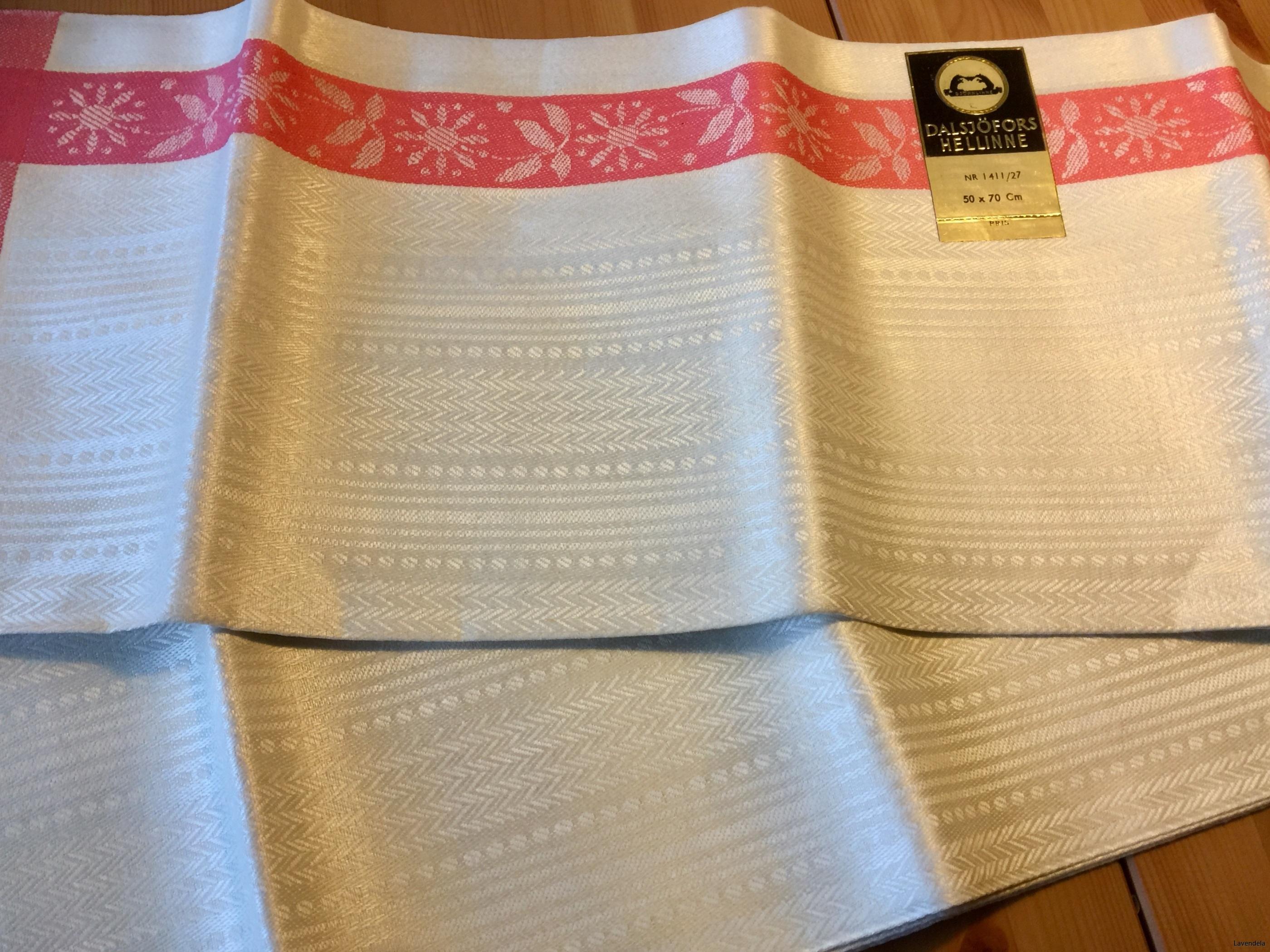 6 handdukar, 70 x 50 cm