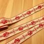Fint äldre bomullsband, 6,5 meter. Oanvänt!