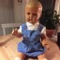 En helt nygammal Minerva pojke, 65 cm - En söt Minerva docka nygammal