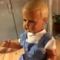 En helt nygammal Minerva pojke, 65 cm