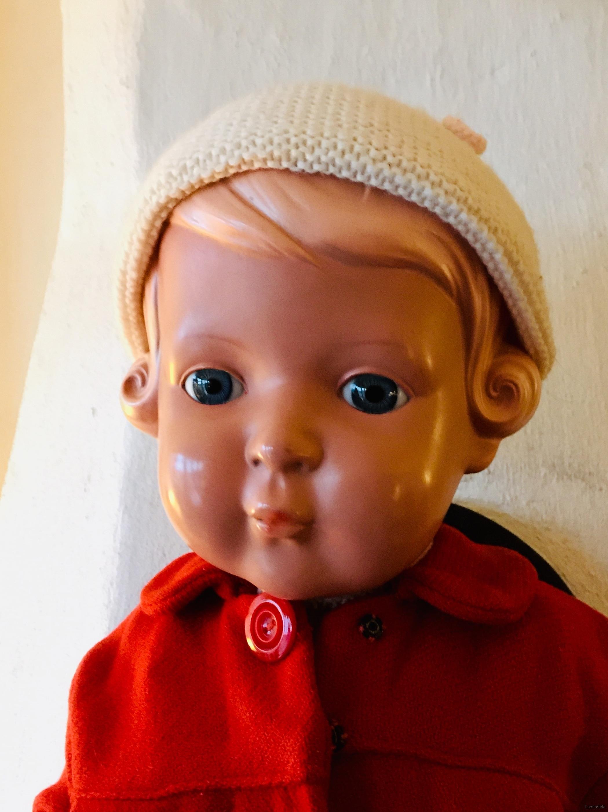 Får en docka se så här fin ut?