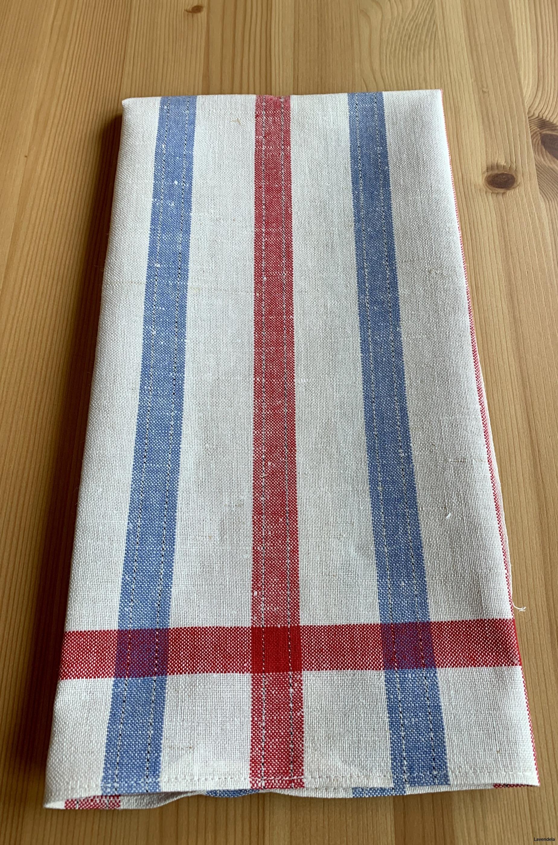 6 st färdigsydda handdukar