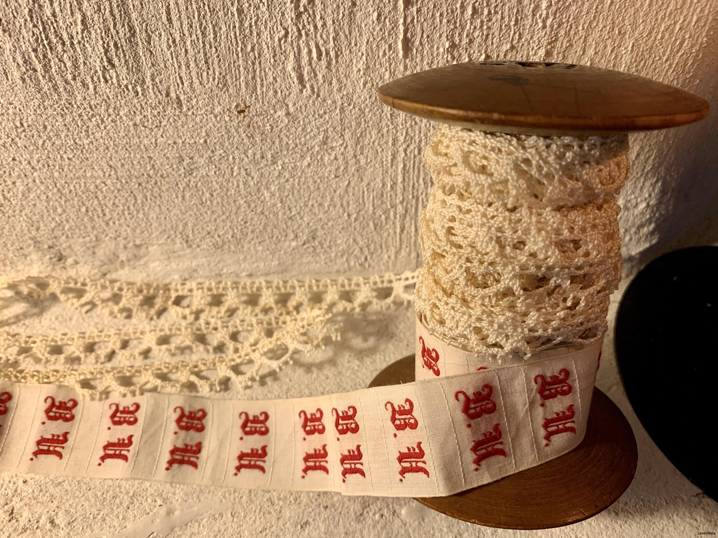 Handgjord spets
