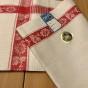 En fin oklippt hellinne handduksräcka - En fin handduksräcka i hellinne