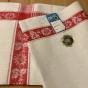 En fin oklippt hellinne handduksräcka