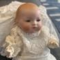 """En ljuvlig """"dreambaby"""" ca, 1920, klädd i dopklänning!"""