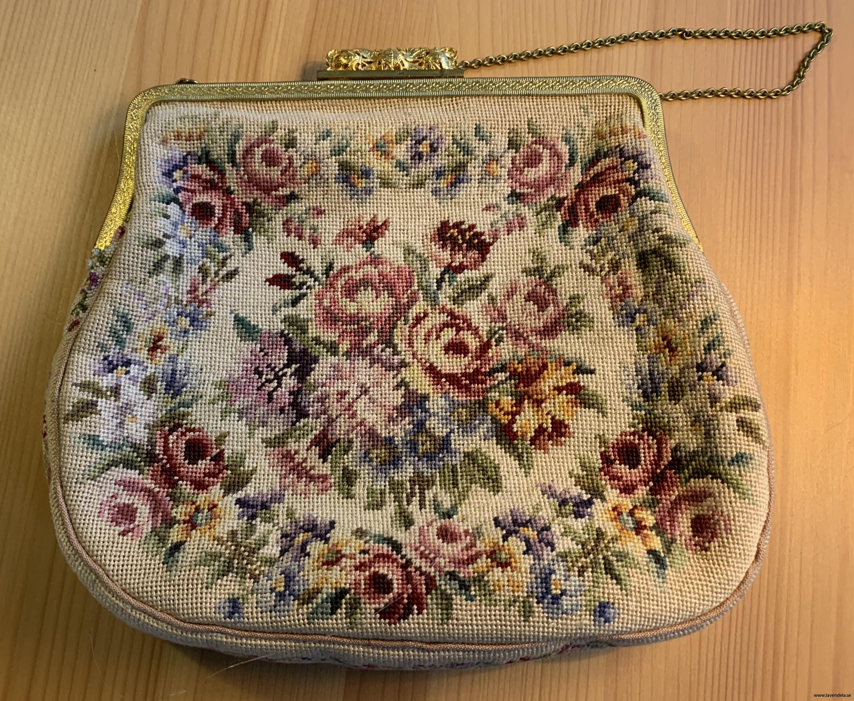 Väskan är från 1900 talets början
