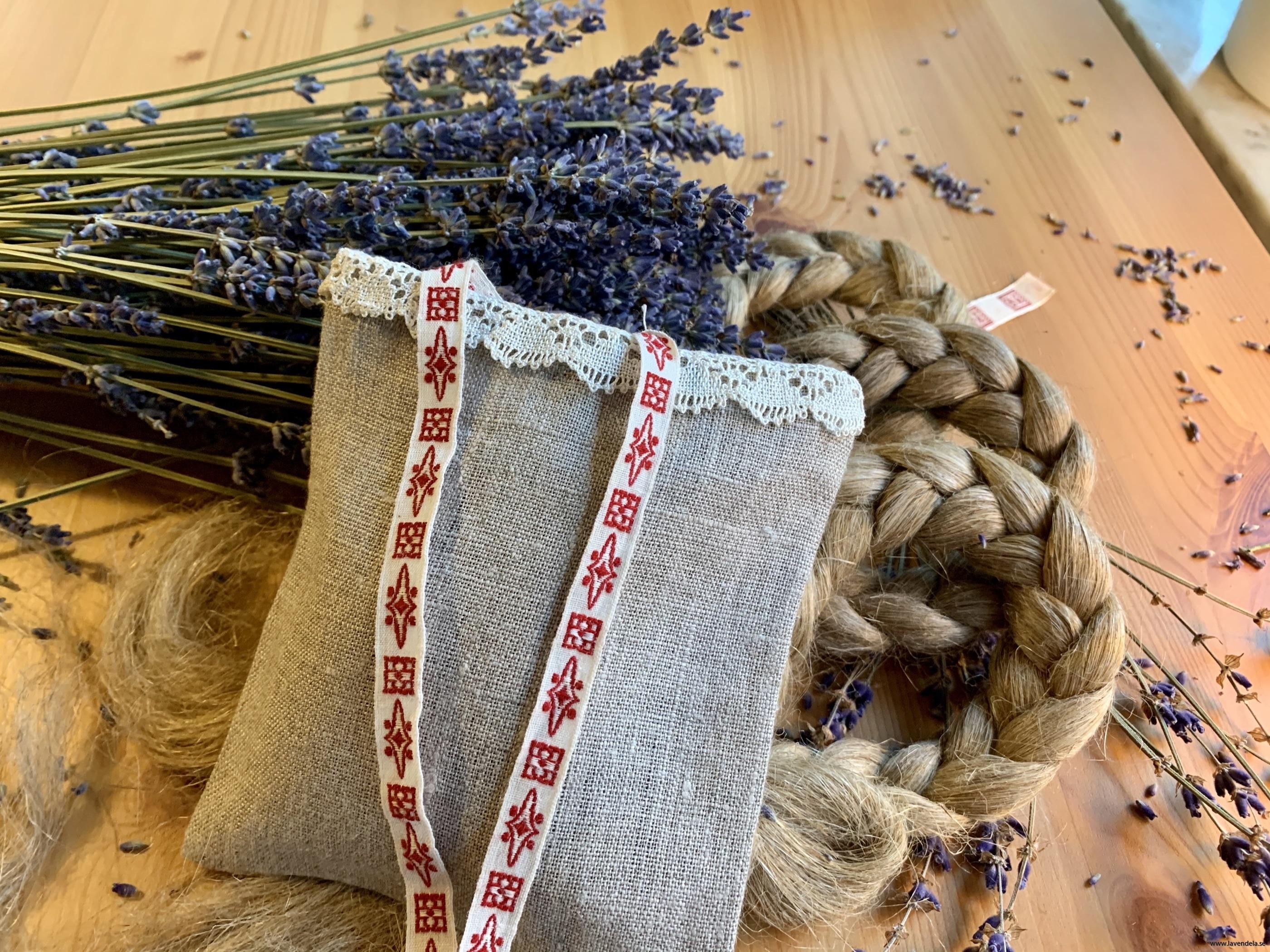 Lavendelpåse, 12 x 11 cm